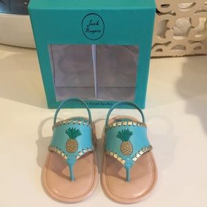 4f2b8e57c0dbad Jack Rogers Shoes - Baby jack Rogers My First Jacks pineapple size 4